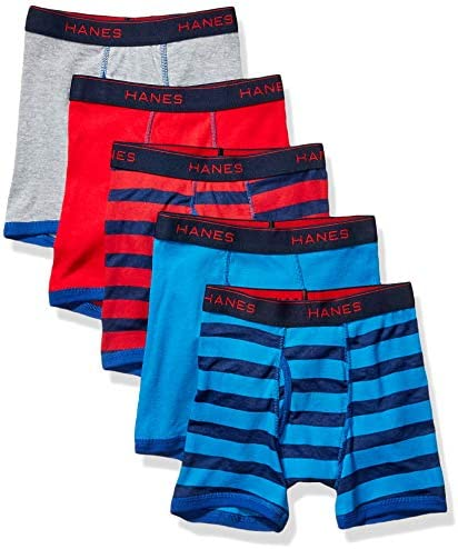 Hanes Boys Comfort Flex Fit Sport Ringer Boxer Briefs Assorted Solids Medium product image