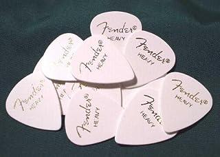 Fender ピック×20枚 ティアドロップ HEAVY-WHT