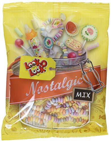 Look O Look Nostalgic Mix bunte Süßigkeiten Mischung - da werden Erinnerungen wach, 4er Pack (4 x 258 g)