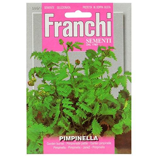 Seeds of Italy Franchi Graines de pimprenelle