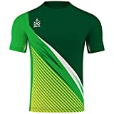 OMKA Trikot Teamsport Teamwear Fussballtrikot Fantrikot Shirt Jersey, Größe:M, Farbe:Grün