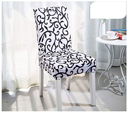 NIKIMI Fundas para sillas para Comedor Juego de 4 Fundas para sillas de Spandex Stretch Fundas elásticas para Banquetes de Boda de Cocina