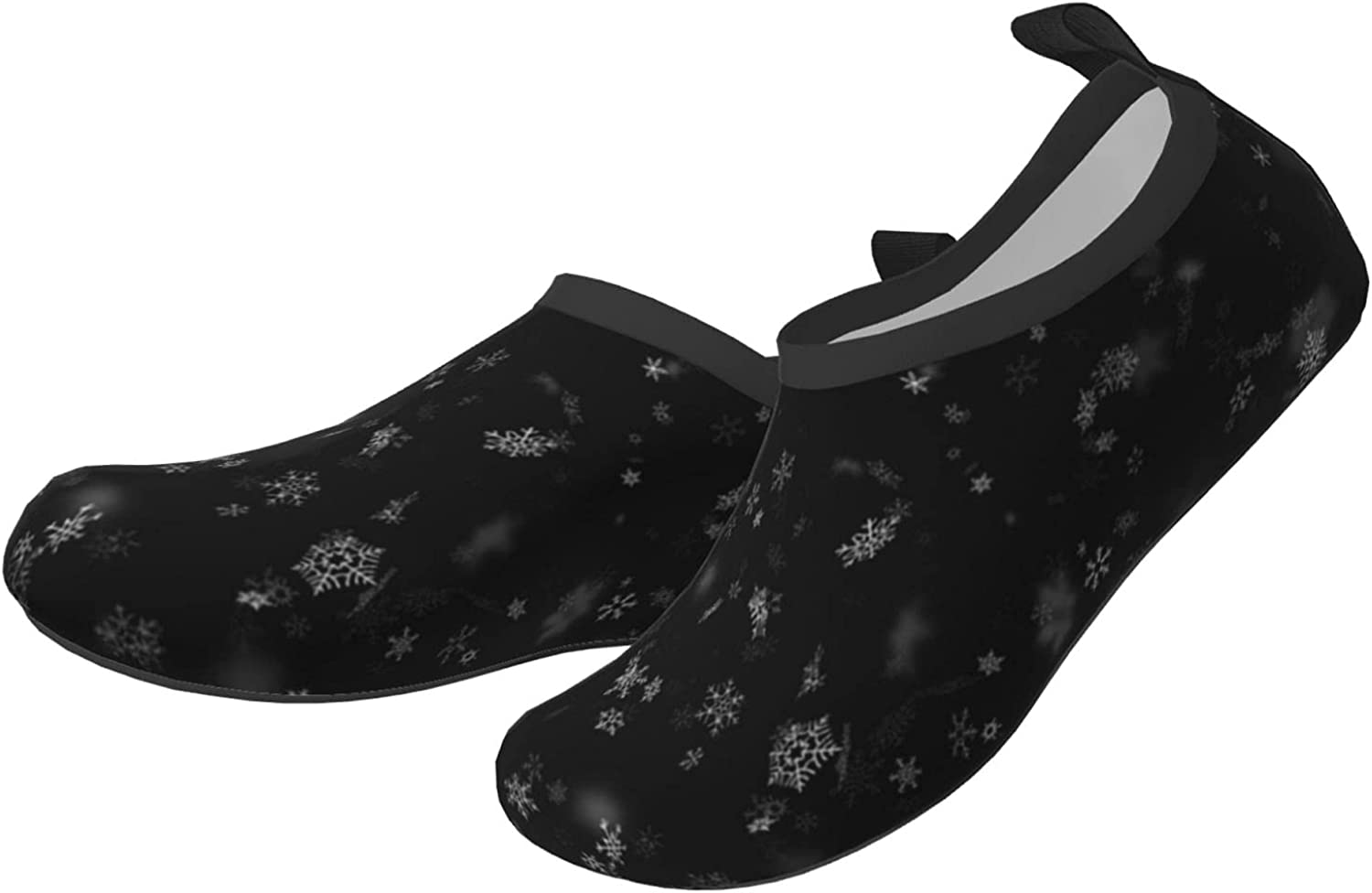 Starry Sky Children's Wading Shoes, Beach Shoes, Surfing Shoes, Breathable, Non-Slip, Lightweight, Thick Insoles Black