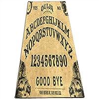 Ouija Board ヨガマット 4.5mm エクササイズマット フィットネスマット トレーニングマット 軽量 耐久性 肌に優しい 両面の滑り止 屋内運動 ピラティスマット持ち運び 収納簡単 実用的 ユニセックス