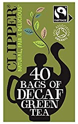 Flawless, light green tea, delicately decaffeinated for those looking for a spring in their step and a sparkle in their cup. Unbleached bags of Fairtrade & Organic decaf green tea We decaffeinate the natural way. Our decaffeination process uses carbo...