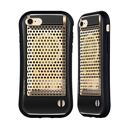 Head Case Designs Officially Licensed Star Trek Communicator Closed Gadgets Hybrid Case Compatible with Apple iPhone 7 / iPhone 8 / iPhone SE 2020