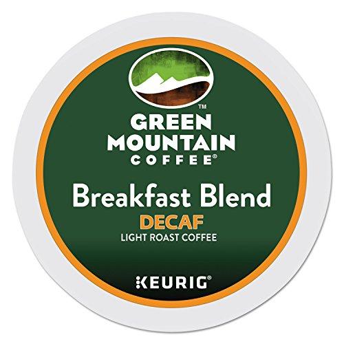 Green Mountain Coffee Roasters 7522 Breakfast Blend Decaf Coffee K-Cups, 24/box