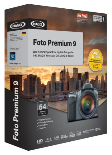 MAGIX Foto Premium 9 SONDEREDITION Minibox