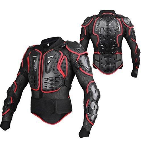 Racing Gear Armour Pads 5PCS Racing protezione guardia set supporto rimovibile EVA equitazione spalla gomito posteriore protezioni professionale moto motocross Motor Rider Guards