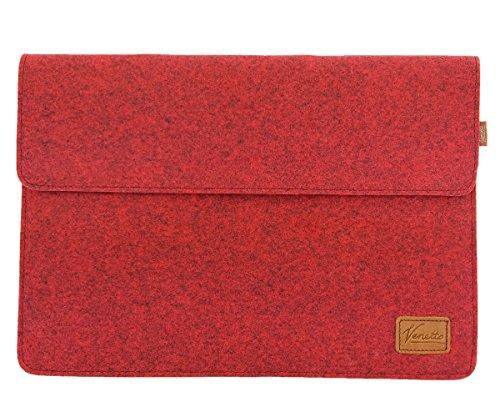 Venetto 15,7-17,3 Zoll Laptop 17,3 Zoll Tasche Sleeve Hülle Ultrabook Schutzhülle für 17