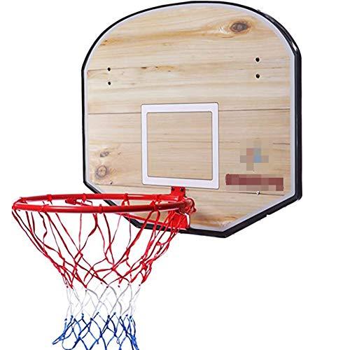 MHCYKJ Canasta Baloncesto Interior Casa Tablero De Aro Montado En La Pared para Niños Colgar sobre Puertas Juego con Pelota Y Bomba