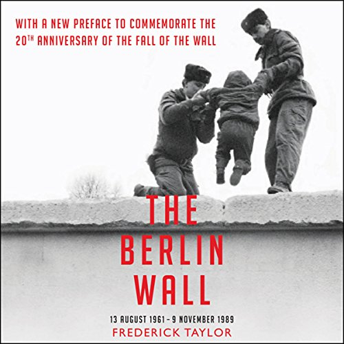 The Berlin Wall audiobook cover art