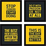 Chaka Chaundh - Motivational Quotes Frames – Framed Posters - Quotes Frames