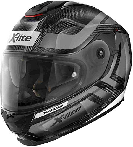 X-LITE, X-903, Motorradhelm, Ultra Airborne (Microlock), Carbon (dunkelgrau), M