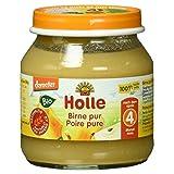 Holle Bio Birne pur, (6 x 125 g) -