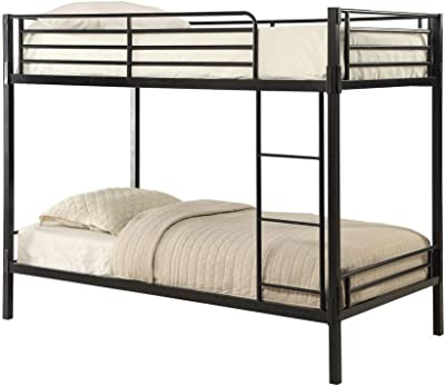 Amazon Com Zinus Hani Easy Assembly Quick Lock Metal Bunk