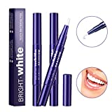 Teeth Whitening Pen (3 Packs),Teeth Whitening Treatments Gel - Painless,No Sensitivity, Convenient, Easy to Use,Travel-Friendly and Effective,Beautiful White Smile and Natural Mint Flavor
