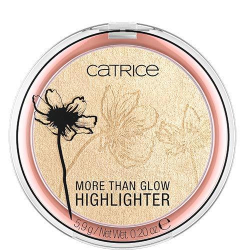 Catrice More Than Glow Highlighter, Nr. 010 Ultimate Platinum Glaze, gold, intensiv, metallisch, schimmernd, vegan, Nanopartikel frei, ohne Parfüm (5,9g)