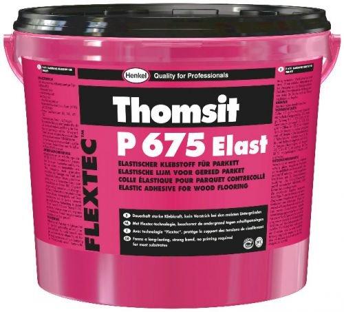 Thomsit Kleber P 675 Elast Parkettkleber Bodenkleber 18 kg