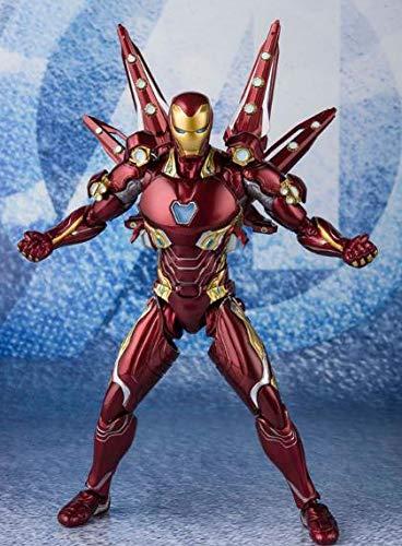 Animado modelo de personaje estatua figurilla de armas nano hombre de hierro móvil de segunda generación en caja hecha a mano modelo de recogida de modelo de 16cm