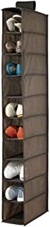 mDesign étagère à chaussures – rangement suspendu pour chaussures avec 10 casiers – étagère à suspendre pour un rangement ...