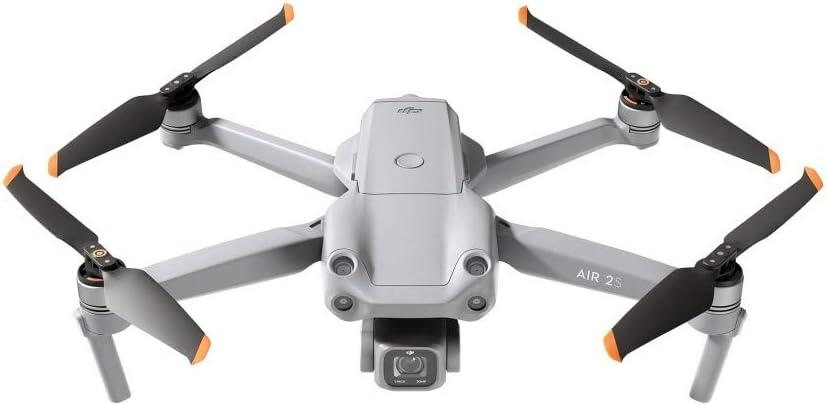 Amazon.nl-DJI Air 2S - Drone Quadcopter UAV met 3-Axis Gimbal Camera, 5,4K Video, 1-Inch CMOS-sensor, obstakeldetectie in 4 richtingen, 31 min vliegtijd, max 12 km video-overdracht (FCC), MasterShots-aanbieding