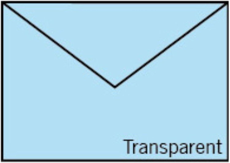 Rössler Papier - - Paperado-Briefumschlag DIN C6, transp. Hellblau B07CX6FZHS  | Outlet Online Store