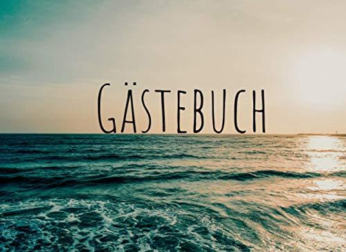 Gästebuch: Für Ferienwohnung, Bed and Breakfast, Pension und Hotel | Meer/Nordsee Design |...