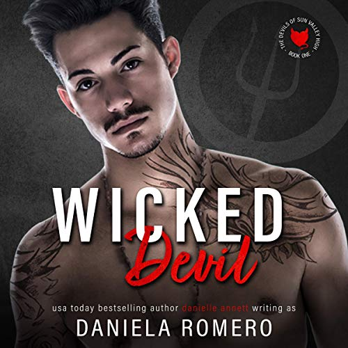 Wicked Devil (A High School Bully Romance)  By  cover art