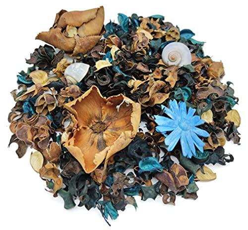 GERILEO Lote de 2 Bolsas de Potpourri aromático y Decorativo con Flores secas de arándano - Flores secas para decoración - Popurrí (2 Bolsas)