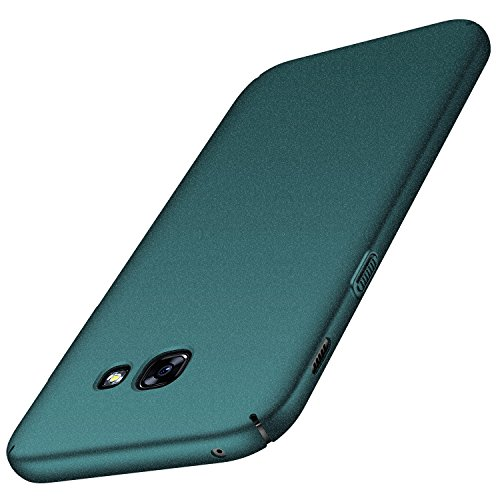 anccer Coque Samsung Galaxy A3 2017 [Serie Mat] Resilient Conception Ultra Mince et Absorption des Chocs Coque pour Samsung Galaxy A3 2017 (Gravier Verte)