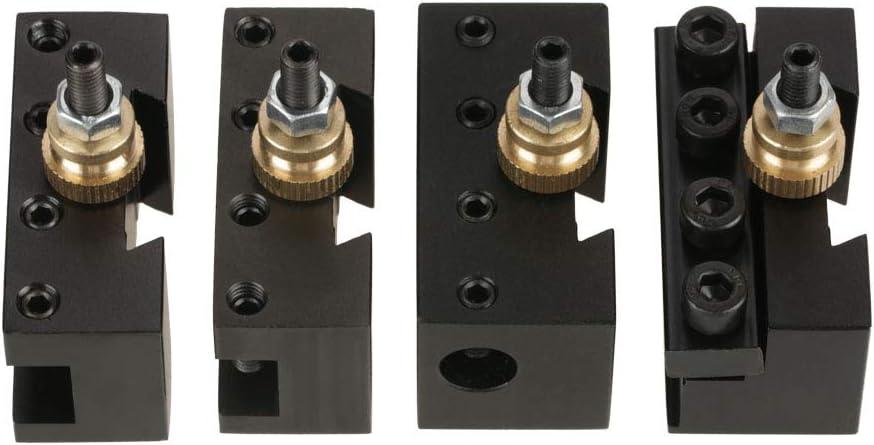 Oxa 250-001 - 4pcs Mini Lathe 時間指定不可 Tool 店内限界値引き中&セルフラッピング無料 Quick Holder Kit Post Change