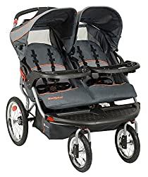 Double Jogging Stroller with Speakers