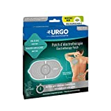 Urgo – Parche de electroterapia recargable multilocalización, acción antidolor inmediata, dolor de espalda, dolores articulares, 1 parche completo, cable USB y 2 recambios de gel adhesivo