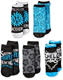 Supernatural Winchester Brothers 5 Pack Ankle Socks, Shoe Size: 4-10