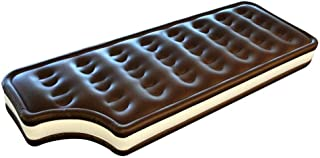 BigMouth Inc Inflatable Ice Cream Sandwich Pool Float, Giant Swim Tube for Kids, Adults, Great for Pool Parties, Over 5 Feet Long, Patch Kit Included