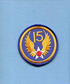 Embroidered Patch-Patches for Women Man- 15th AIR Force WW2 US AAC Army AIR Corps USAF