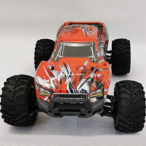 LQZCXMF Flyshen 1/10 Camión Eléctrico Cepillado, Camión Eléctrico De Alta Velocidad Con Control Remoto De Tracción En Las Cuatro Ruedas, Modelo De Juguete Para Escalar El Vehículo Todoterreno Es Un Re