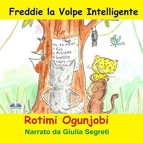 Freddie la Volpe Intelligente [Freddie the Clever Fox] cover art