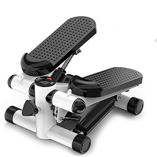 Mini Stepper, Step Cardio Fitness Maquina de Subir Escaleras Casa, Stepper Up-Down, Ideal para Principiantes, LCD Pantalla Multifuncional, Carga -150KG