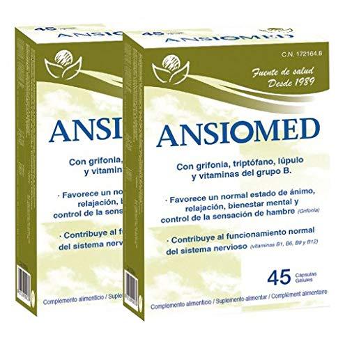Pack Ansiomed 2x45 (90) CÁPS de Bioserum - Combate la ansiedad de...
