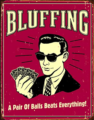 Poker Tin Signs