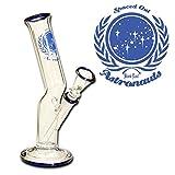 PatchouliWorld Black Leaf–Bong de Cristal Astronauta Serie