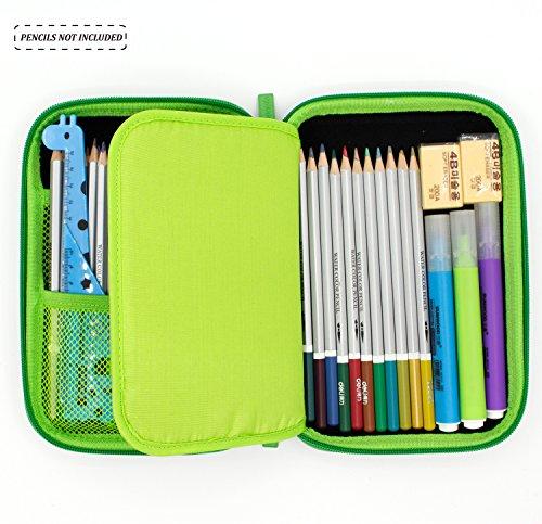 Estudiante Estudiante Estudiante Estacionario Estuche de lápices de colores Titular Estuche para Chicos Niñas Estuche…