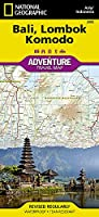 National Geographic Adventure Map Bali, Lombok, and Komodo Map Asia, Indonesia: Travel Maps International Adventure Map