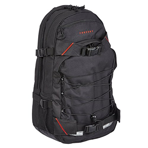 Forvert Laptop Louis 27 L Rucksack Black