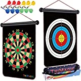 Best Dart Board Cases - TriMagic Safety Magnetic Dart Board for Kids – Review