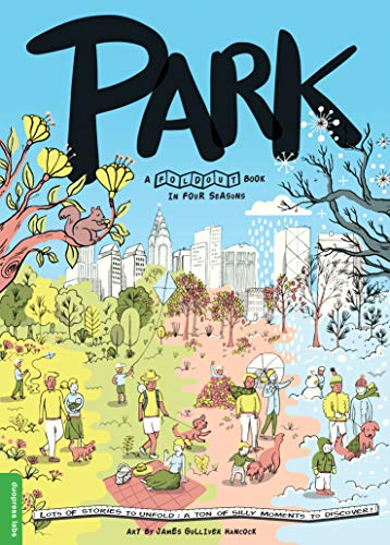Price comparison product image Park: A Fold-Out Book in Four Seasons