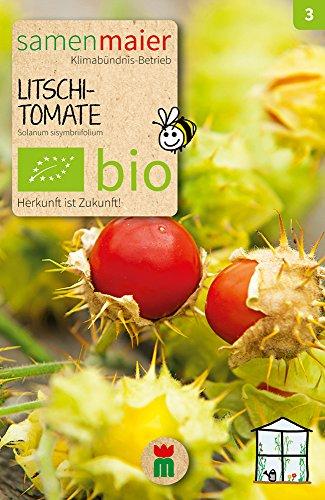 Samen Maier 836 Litschi-Tomate (Bio-Litschi-Tomatesamen)