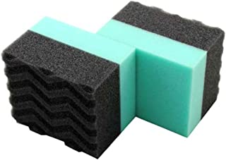 Chemical Guys Acc_3002 Wonder Wave Durafoam Contoured Large Tire Dressing Applicator Pad (Pack of 2)